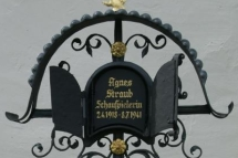 Agnes Straub Grabstelle in St. Georgen